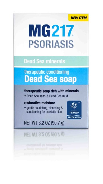 Therapeutic Conditioning Dead Sea Soap front
