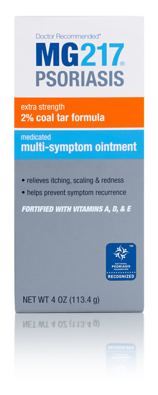 2% Coal Tar Ointment For Psoriasis | MG217